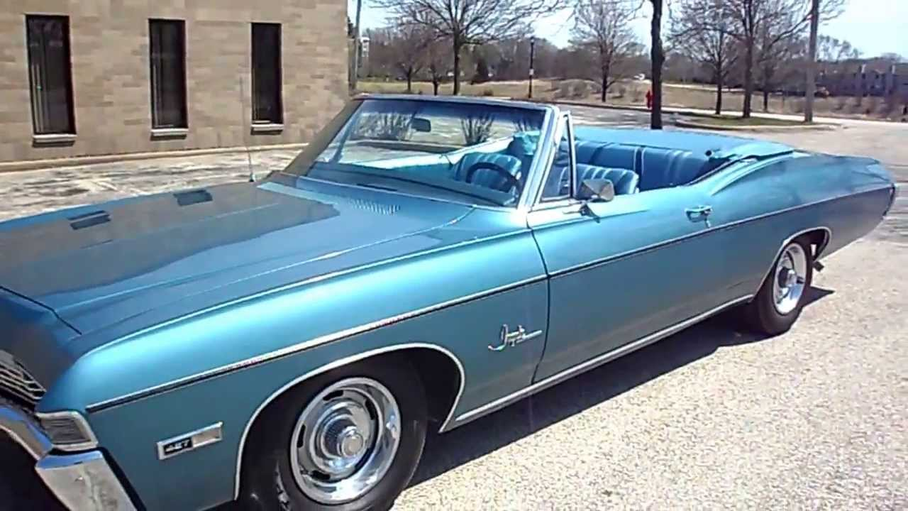 1968 Chevrolet Impala Ss 427 Convertible For Sale Youtube