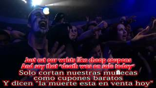 Marilyn Manson Fight Song HD Subtitulada Ingles -Español