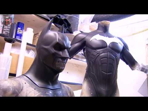 Creating Batsuit & Cape 'Batman: Begins' Featurette