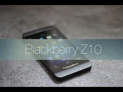 BlackBerry Z10 Review en Español