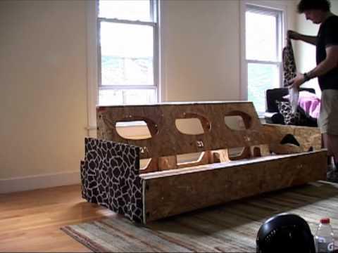 Home Reserve Monroe Sofa Assembly Youtube