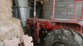 Diesel engine cold start Massey Ferguson MF 135