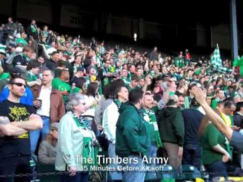 Timbers Army Goes Wild Video