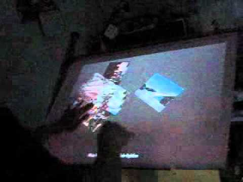 Multitouch Projection table - multitouch apps development (1)
