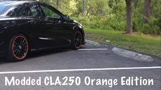 318 WHP Modifed Mercedes CLA250 Orange Edition | Review