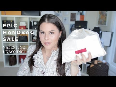 EPIC HANDBAG SALE!! VALENTINO UNBOXING | Jerusha Couture