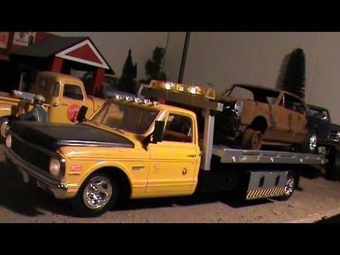 Model Car Garage Diorama Model Car Junkyard Diorama