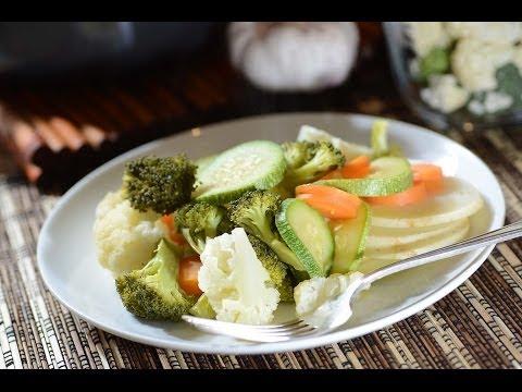 Verduras al vapor - Como cocinar