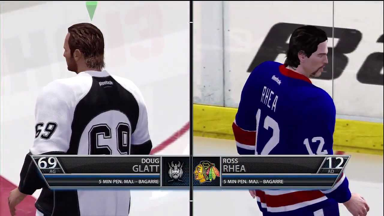 NHL13 Doug Glatt vs Ross Rhea