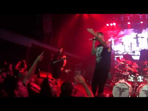 Fear Factory London Music Hall Ont Aug 10 Cam 2
