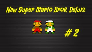 New Super Mario Bros. U Deluxe Walkthrough Playthrough Lets Play (Full Game) Part-2