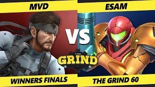 Smash Ultimate Tournament - MVD (Snake) Vs. PG   ESAM (Samus) SSBU The Grind 60 Winners Finals