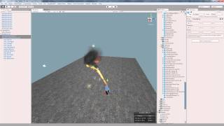 Unity3d effects. Flamethrower, Bazooka Shot and Morning Water Fog