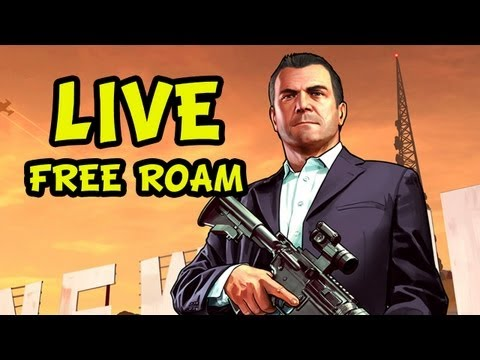 GTA 5 - LIVESTREAM - Free Roam Fun [no spoilers] - RECORDED VERSION