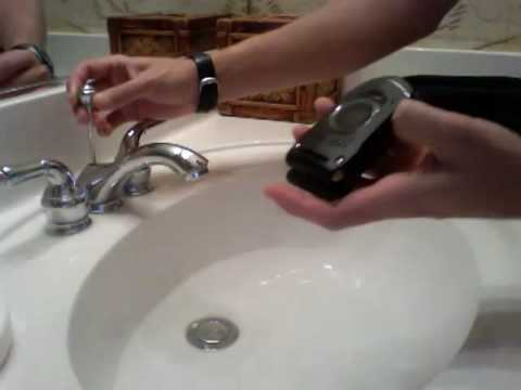 Casio G&#039;zOne rock water test