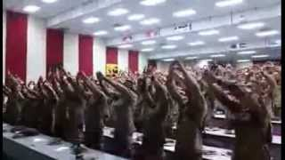 America's Marines Singing 'Days of Elijah'