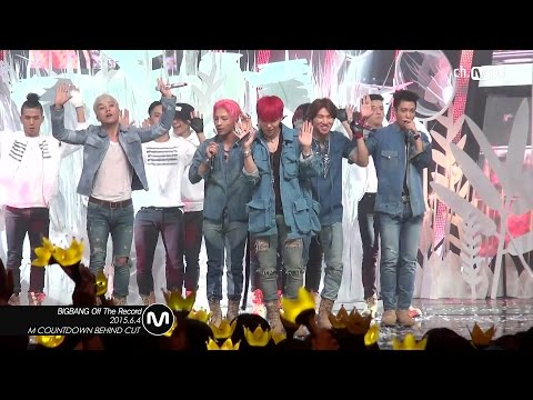 [MPD직캠] 빅뱅 오프 더 레코드 BANG BANG BANG BIG BANG Off the record Mnet MCOUNTDOWN 150604