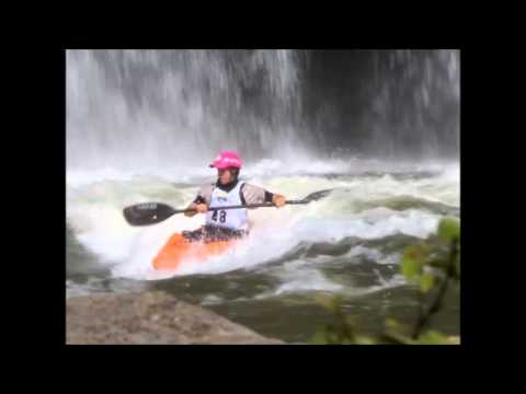 World Cup Freestyle Kayaking 2012 Women's Final day Rock island