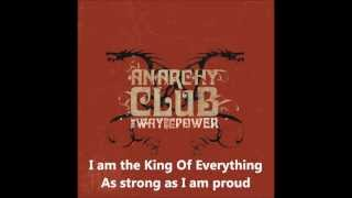 Watch Anarchy Club King Of Everything video