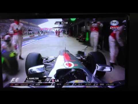 Hamilton 5 wheel change