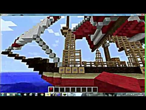 Prsentation bateau minecraft Energik team
