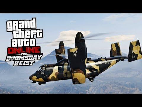 GTA Online: The Doomsday Heist PL - MAX TUNING AVENGERA!