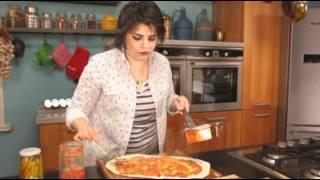 Pratik bir tarif: Lavaştan Basit Pizza