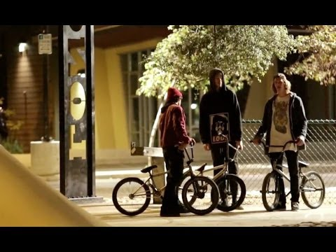 BMX AT NIGHT