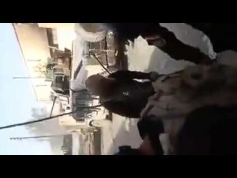 Street battles between the Iraqi army and ISIS in Anbar