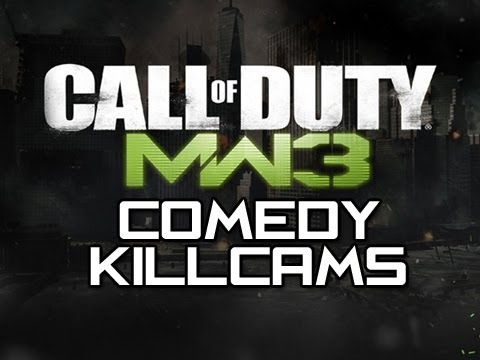 MW3 Comedy Killcams - Episode 4 (Funny MW3 Killcams with Reactions)