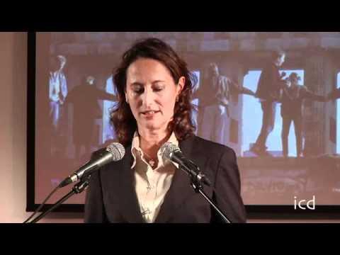 A Lecture by Ségolène Royal (President of Poitou-Charentes Region)