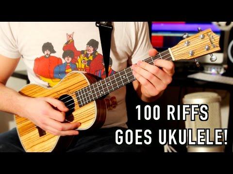 100 Rock Riffs Go Ukulele! Part Two