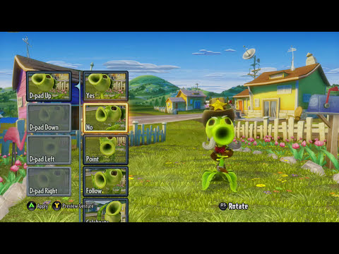 Plants vs. Zombies: Garden Warfare - Law Pea New Rare Character Reveal (PC/Xbox One)