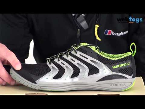 Merrell Men's Barefoot Bare Access Shoes - Great Starter For Barefoot Footwear. video