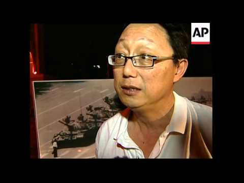 Activists hold candlelit vigil to commemorate Tiananmen anniversary