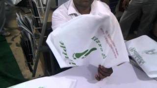 3 Three side box Non woven bag making machine Hyderabad / INDIA