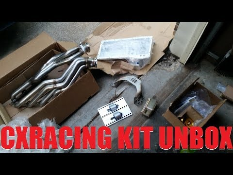CX Racing z32 LS swap kit unboxing