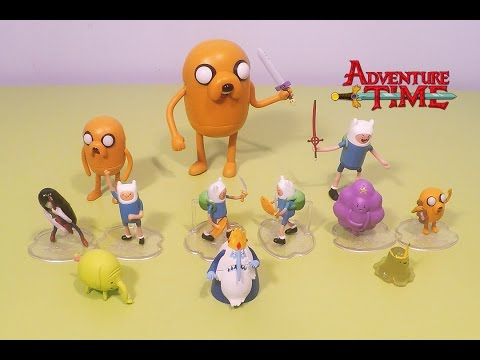 Adventure Time Toys: Finns Sword, Stretchy Jake, Mistery Figure and Deluxe Six Pack Mini Figures