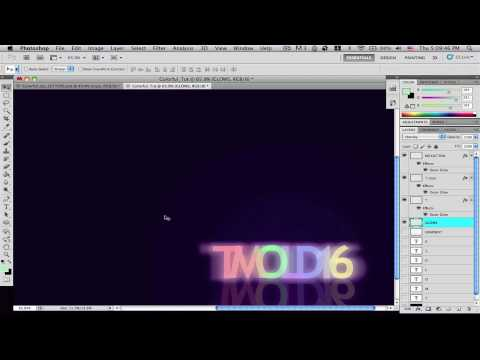 Colorful Tutorial Video