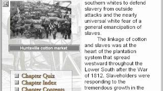 Slavery and the Old South 1800-1860 (The American Journey Part 13)