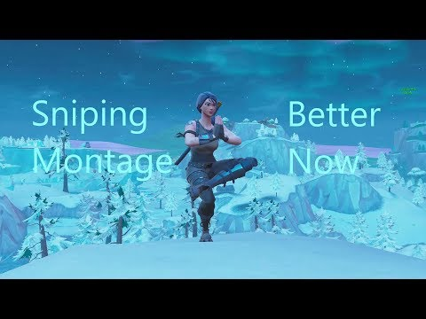Fortnite Sniping Montage - Better Now MP3