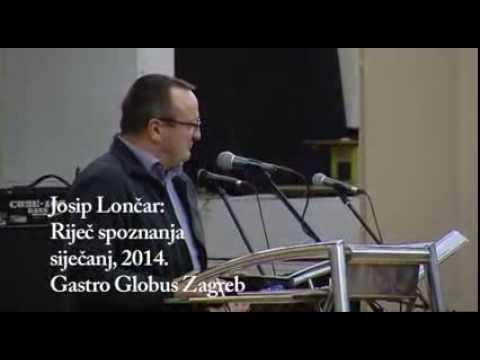 Josip Lončar: Riječ spoznanja
