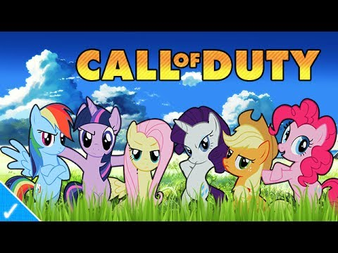My Little Pony Plays Cod Ghosts video