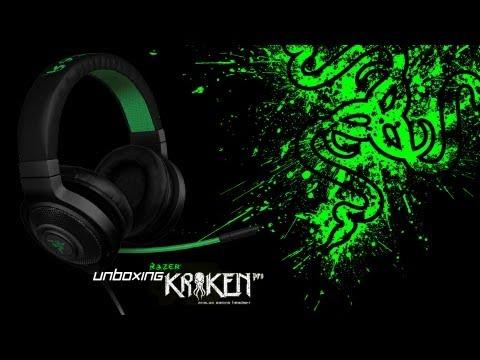 Unboxing! - The Razer Kraken Pro (Black)!