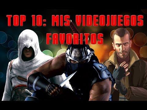 Top 10: Mis Videojuegos Favoritos [Parte 1] (HD)