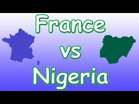 World Cup 2014 Second Round (France verses Nigeria)