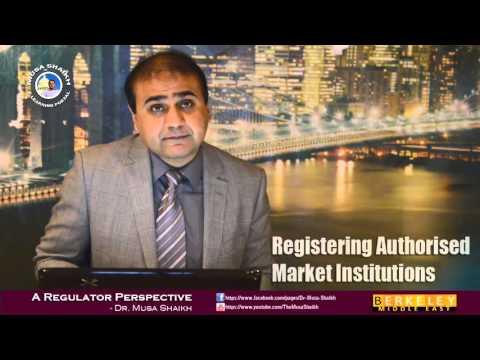 Authorised Market Institutions
