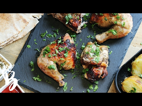 ألذ وصفة دجاج مشوي بالزعتر | Roasted chicken with Thyme thumbnail