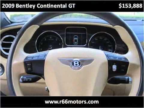2009 Bentley Continental GT Used Cars Baldwin Park or Glendo