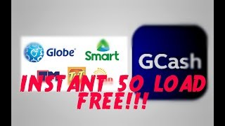 HOW TO GET 50 LOAD FREE FROM GCASH